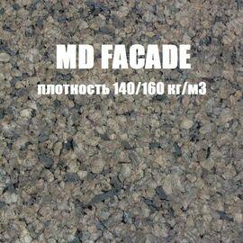 Фасадный агломерат MD Facade, толщина 25 мм, Размер листа: 1000✕500✕25 мм ( 0,5 м²), Плотность: 140-160 кг/м³