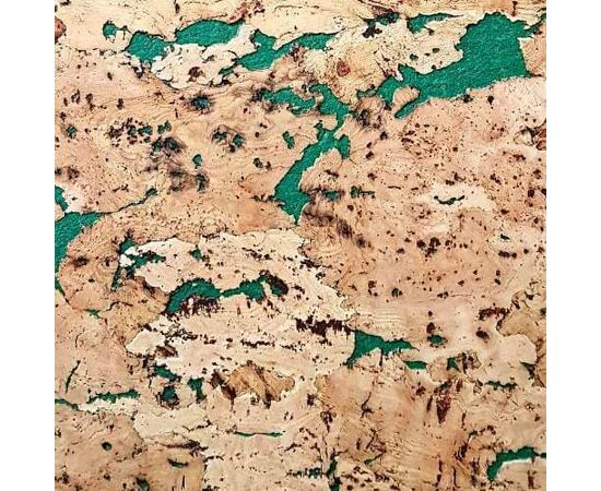 Настенная пробка листовая Corksribas Virgem Green