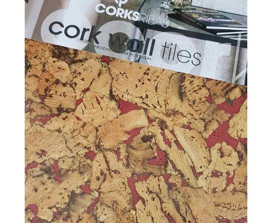 Настенная пробка листовая Corksribas Condor Red
