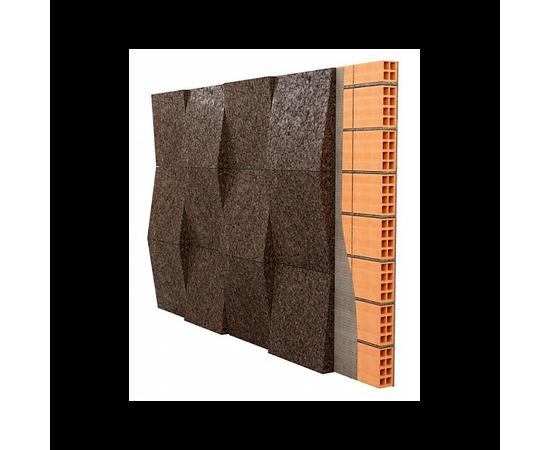 Декоративные 3D панели Taper, размер 500✕500, толщина 20-50 мм, Размер листа: 500✕500✕20-50 мм