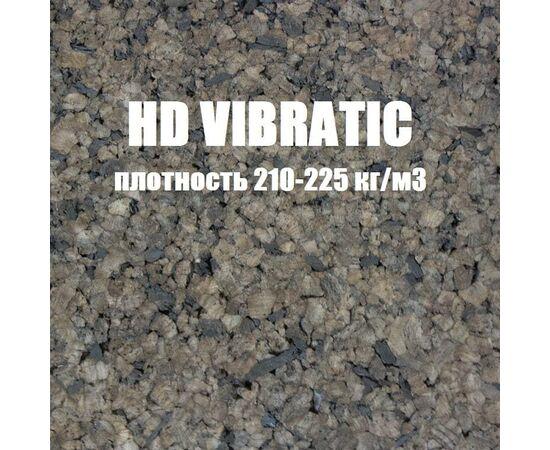 Изолятор пробковый повышенной плотности HD Vibratic 210/225 кг/м³, Размер листа: 1000✕500✕25 мм ( 0,5 м²), Плотность: 210/225 кг/м³