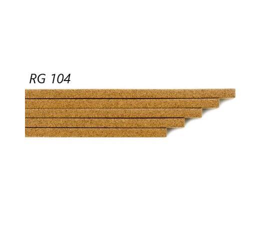Пробковый компенсатор Amorim под лаком RG 104, толщина 7 мм, Цвет: Дуб, Размер: 900✕7✕15 мм