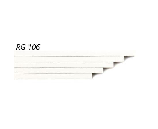 Пробковый компенсатор Amorim под лаком RG 106, толщина 7 мм, Цвет: Белый, Размер: 900✕7✕15 мм