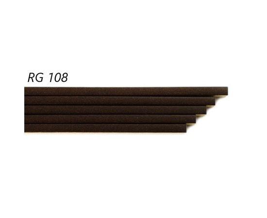 Пробковый компенсатор Amorim под лаком RG 108, толщина 7 мм, Цвет: Орех темный, Размер: 900✕7✕15 мм