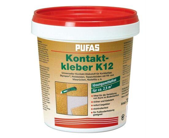Универсальный контактный клей Pufas Kleber K12, емкость 0,7 кг, Норма упаковки: 0.7 кг