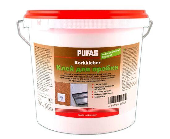 Монтажный клей для пробки Pufas Korkkleber, 1 кг, Норма упаковки: 1 кг